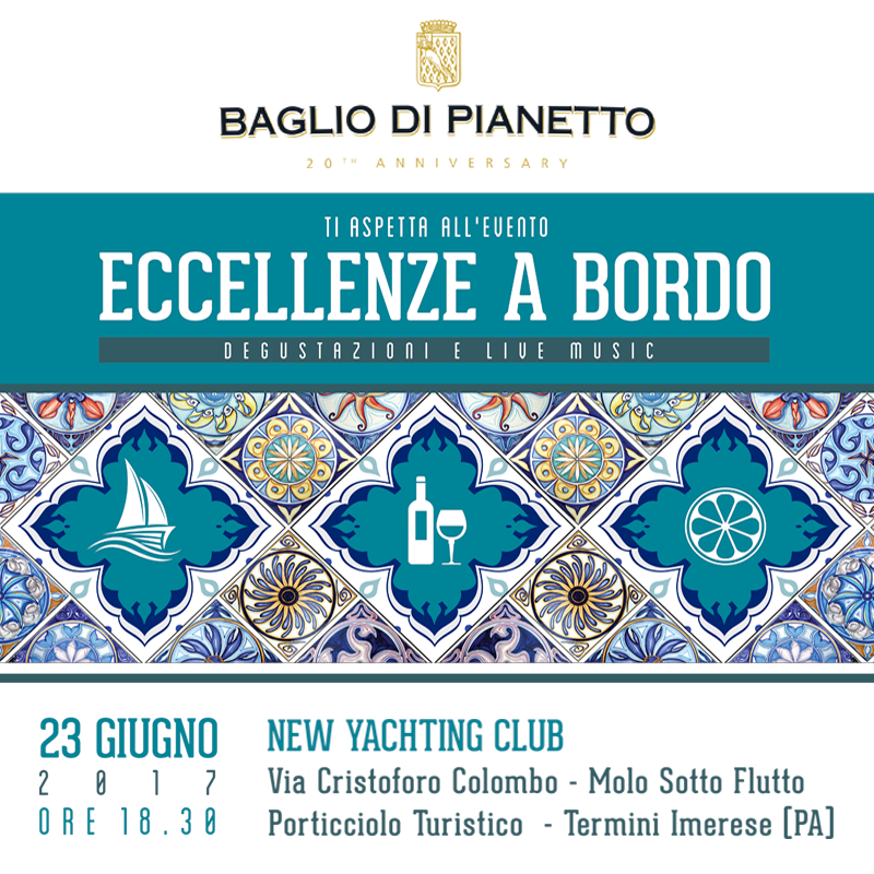 """Al via con """"Eccellenze a bordo"""" la 5^ edizione del Trinacria Blu Festival"""